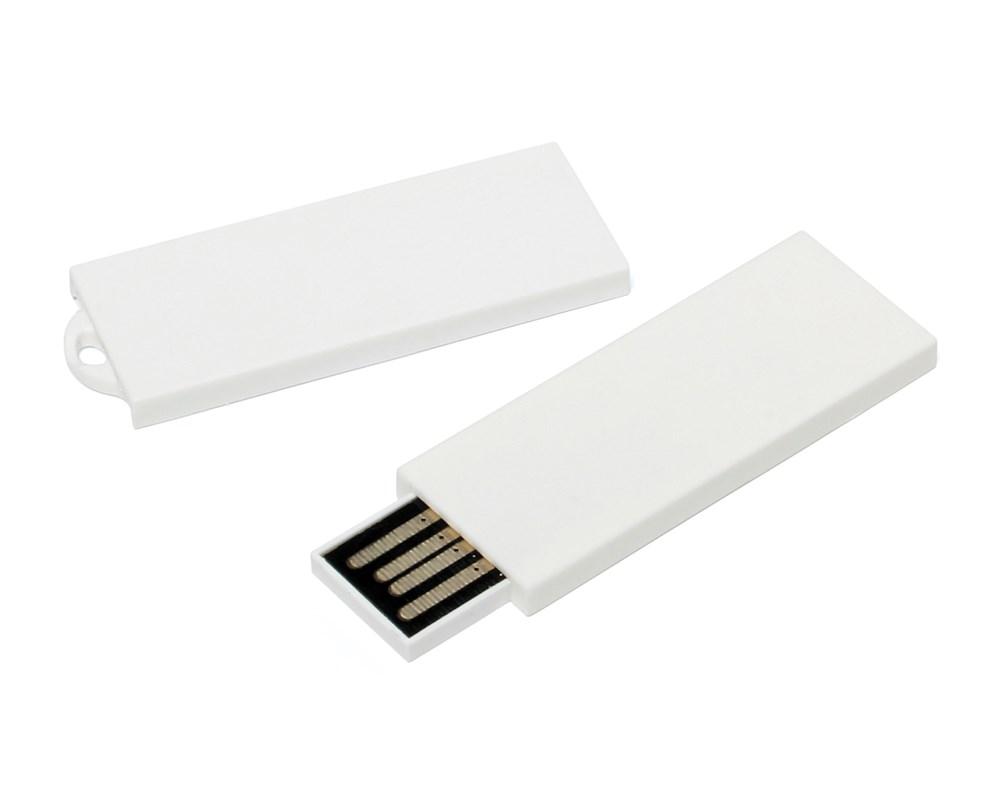 Slender USB FlashDrive Zilver