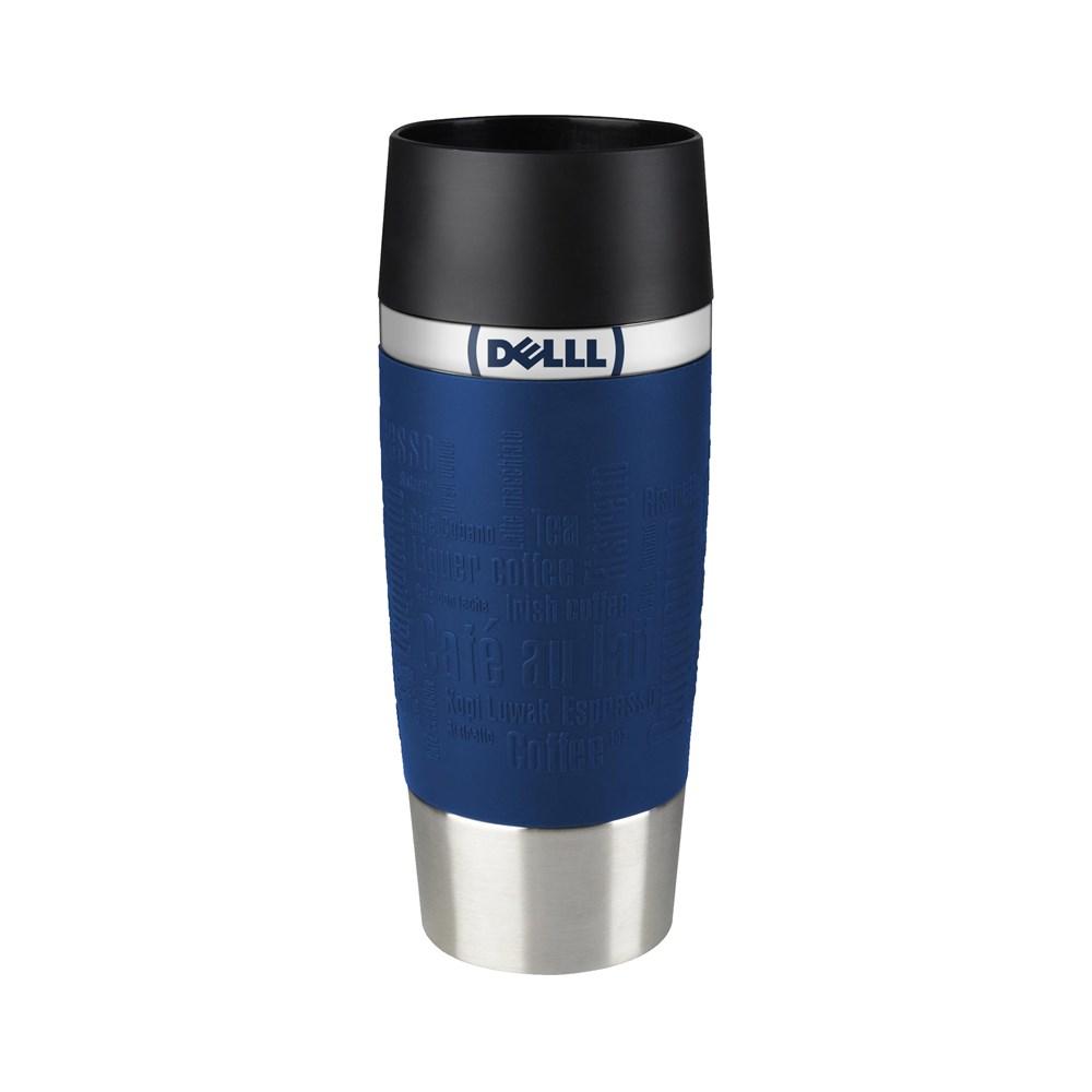 Tefal Travel Mug Max Print Blauw met bedrukking in full color