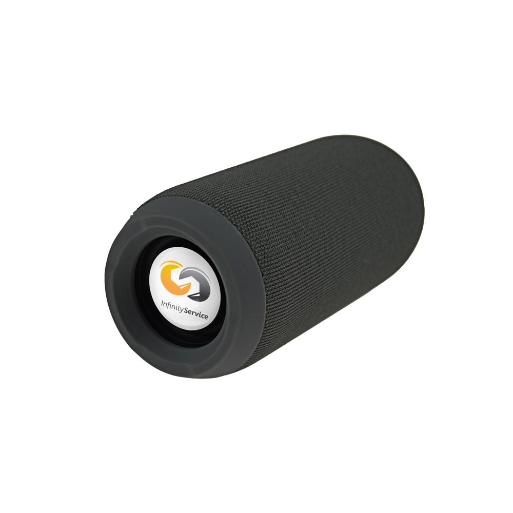 Denver Speaker BTS-110 Personalized Zwart met full color doming