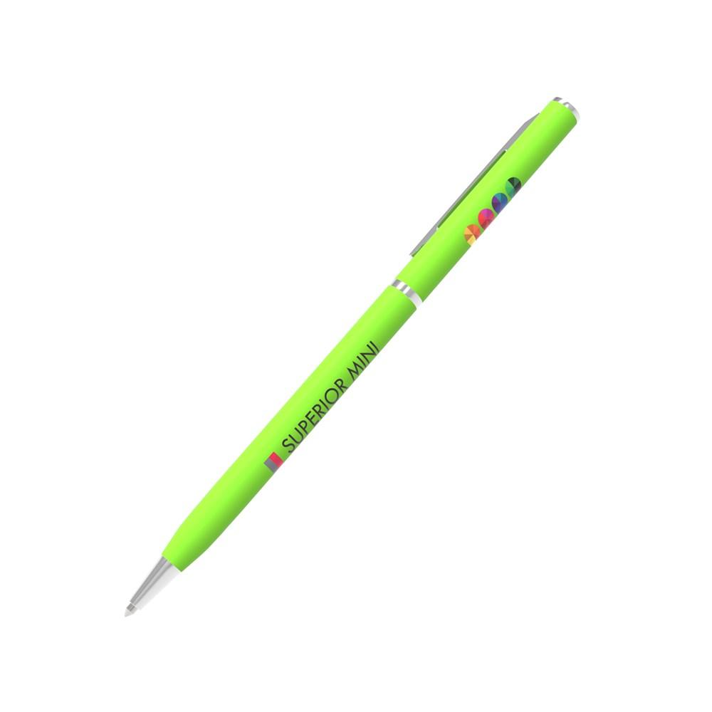Pen Superior Mini Groen met bedrukking in full color