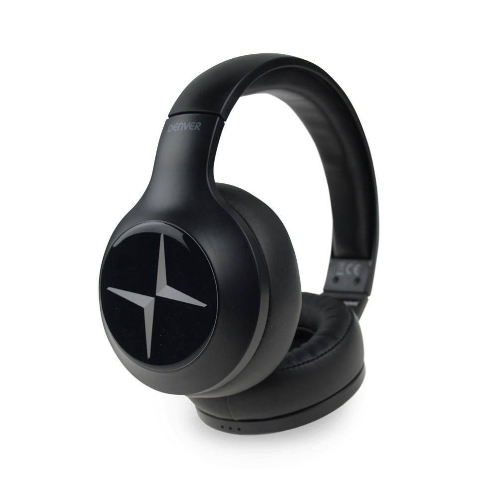 Denver Headphone BTH-251 Personalized Zwart met full color doming