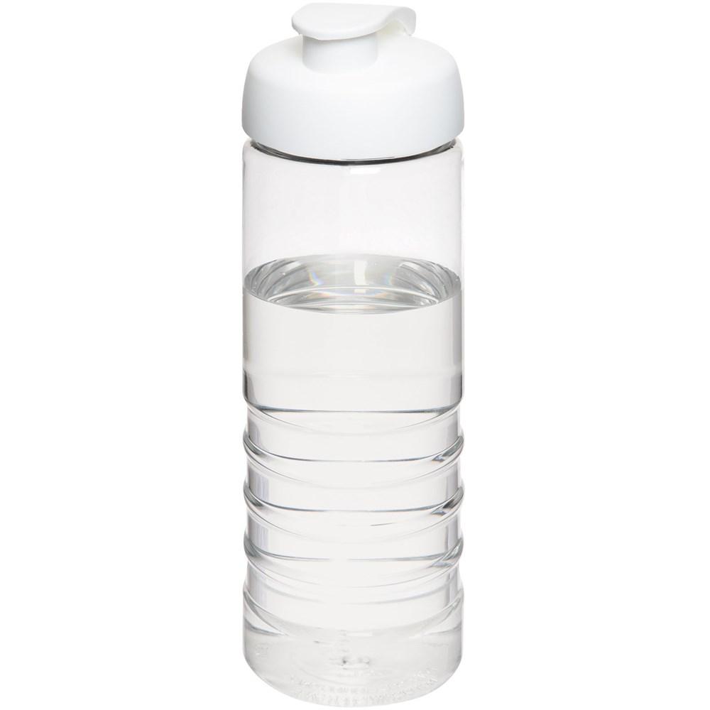 H2O Treble 750 ml sportfles met kanteldeksel