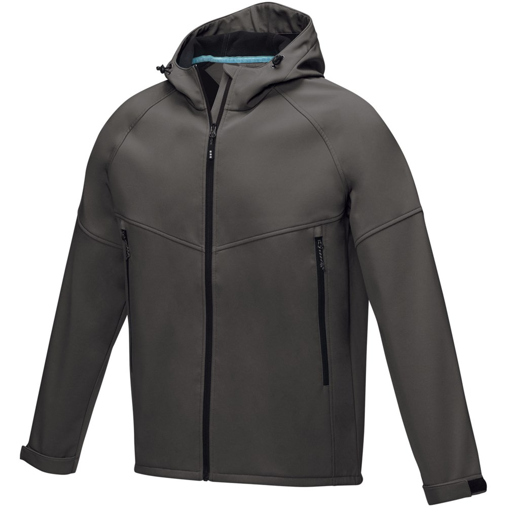Coltan heren GRS-gerecycled softshell jack