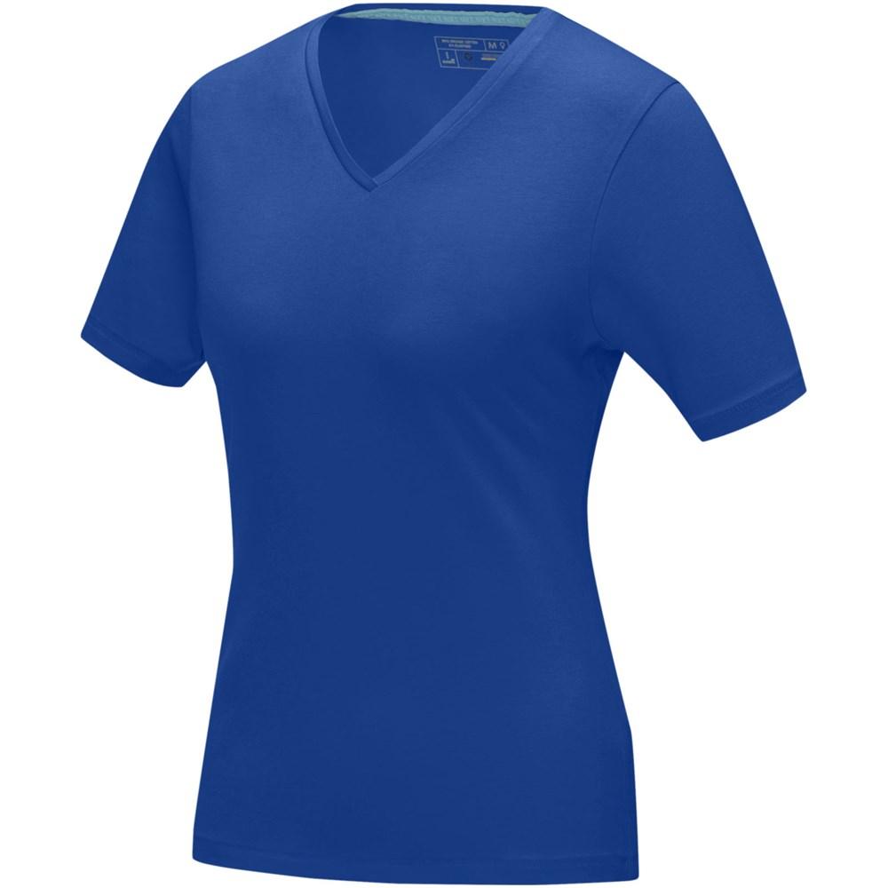 Kawartha biologisch dames t-shirt met korte mouwen