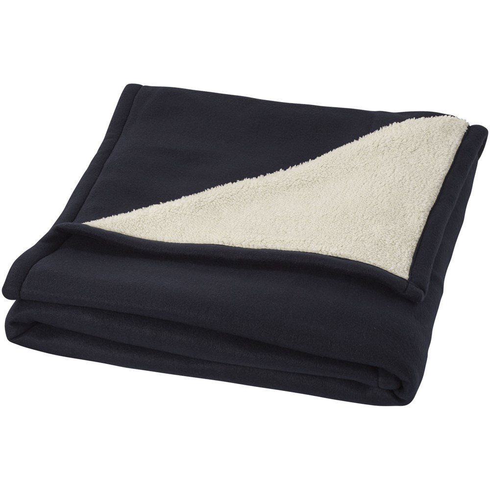 Springwood zachte fleece en sherpa deken