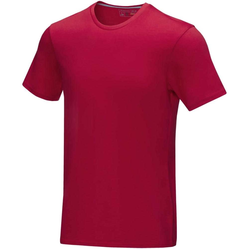 Azurite heren T-shirt met korte mouwen GOTS biologisch textiel