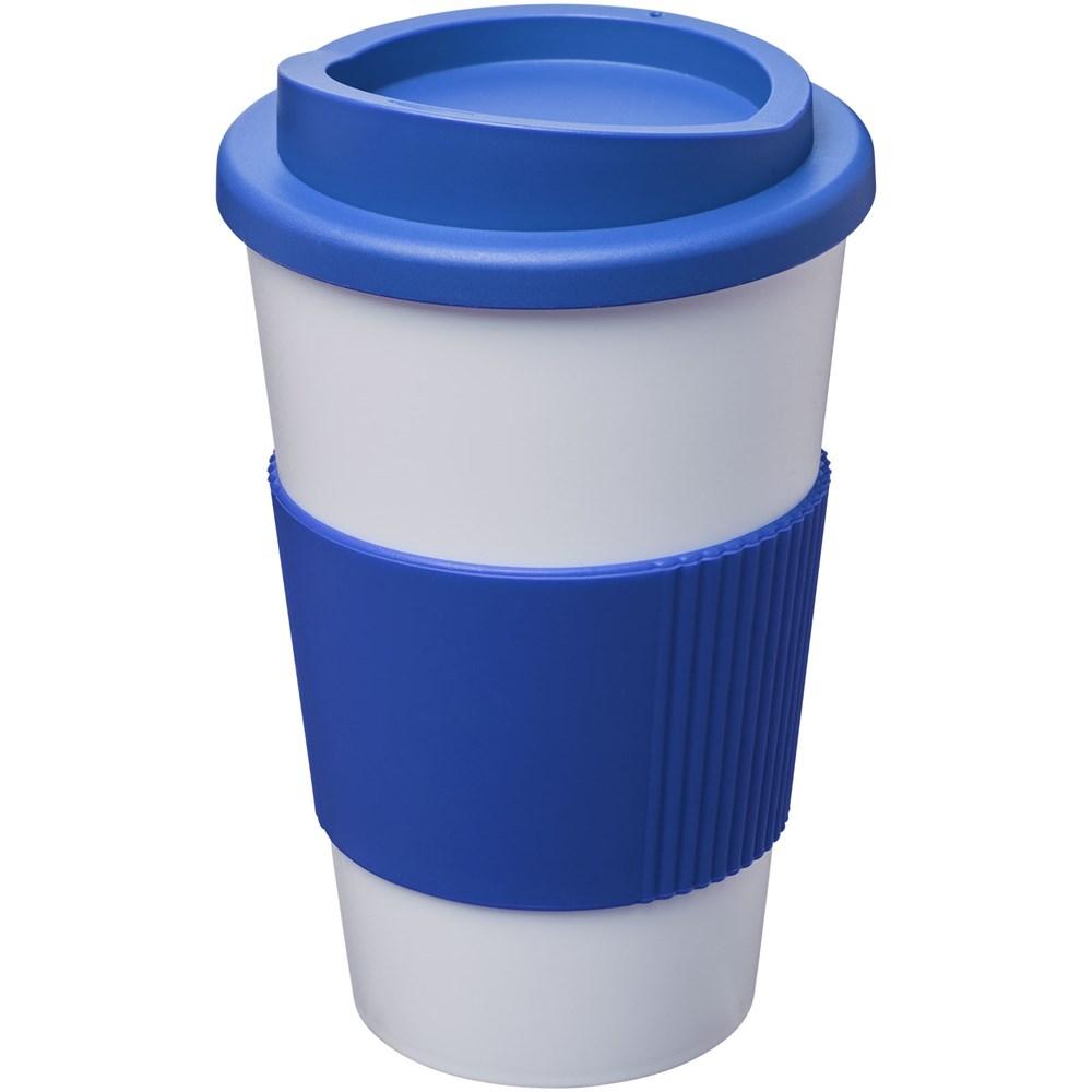 Americano® 350 ml geïsoleerde beker met grip