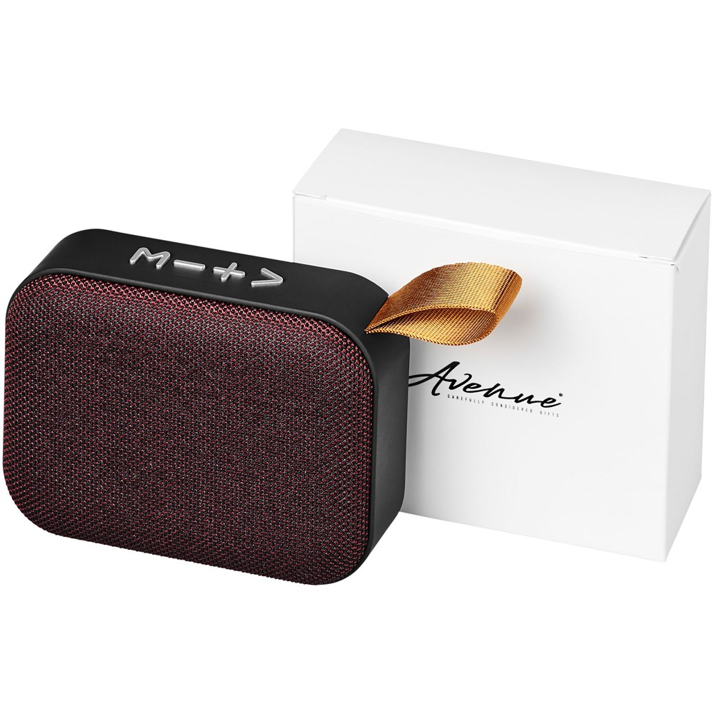 Fashion Bluetooth®-speaker van stof