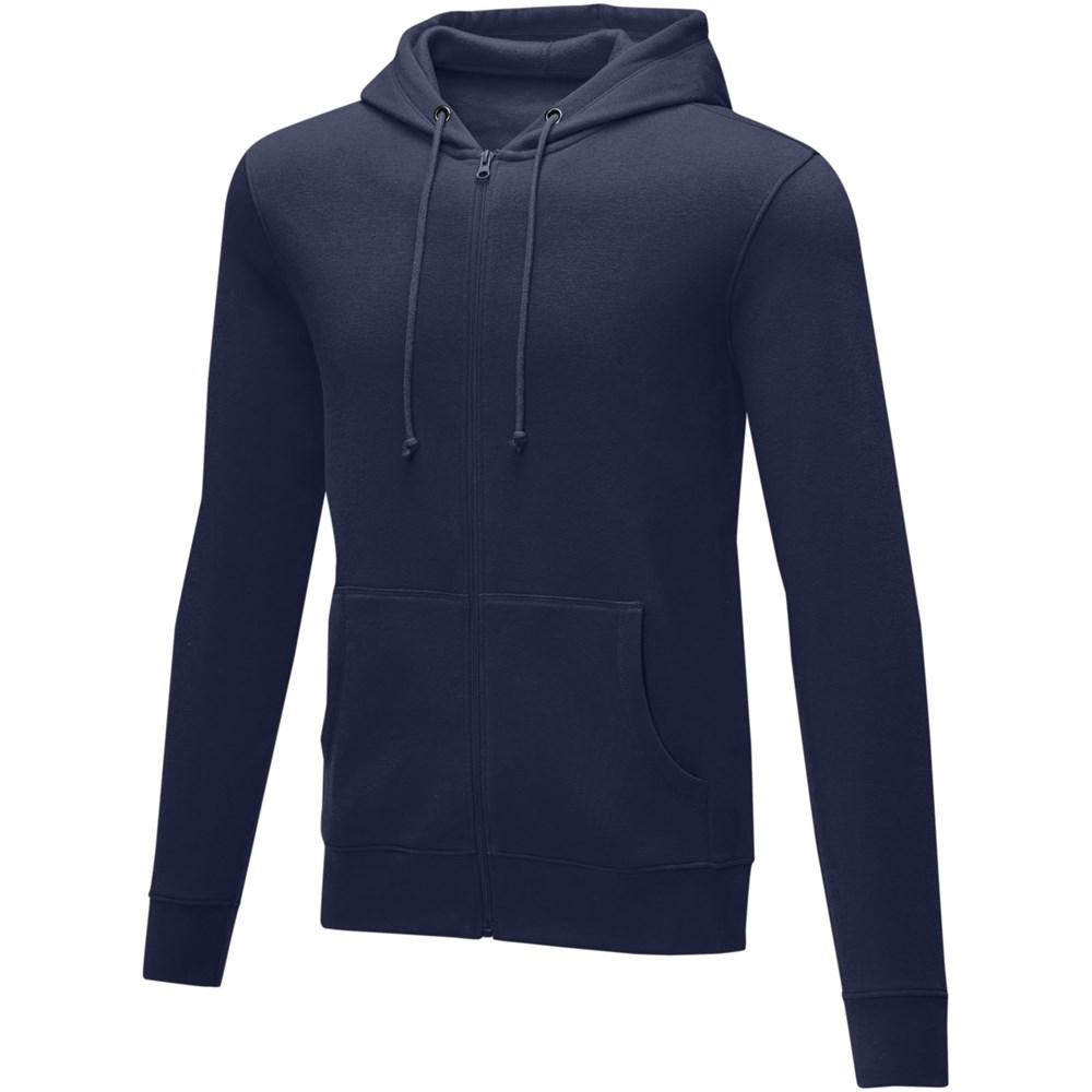 Theron heren hoodie met ritssluiting