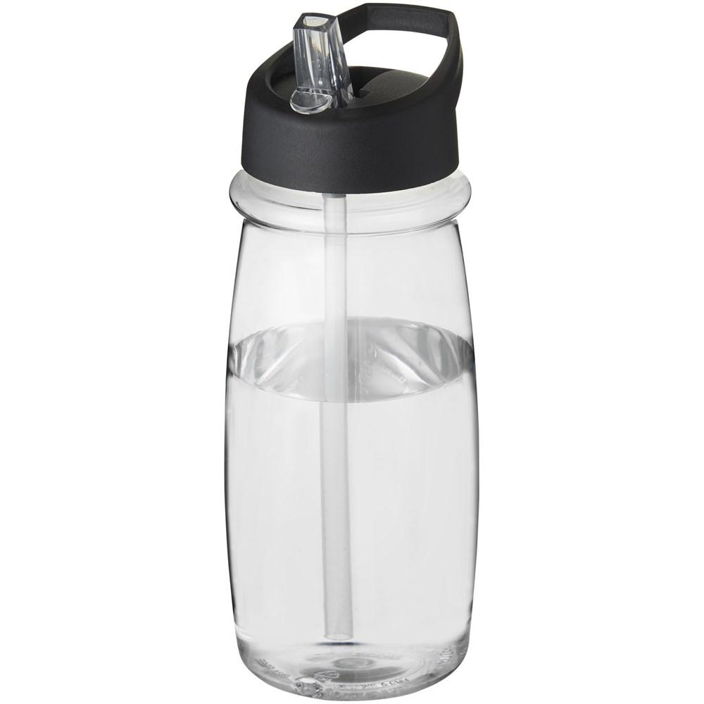 H2O Pulse 600 ml sportfles met tuitdeksel