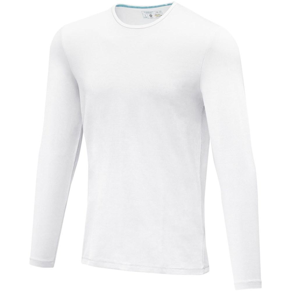 Ponoka biologisch heren t-shirt met lange mouwen