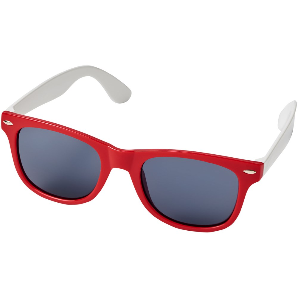 Bild Sun Ray Sonnenbrille mit weißen Bügeln