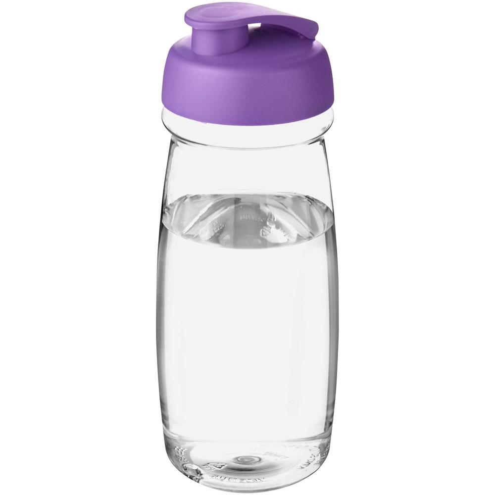 H2O Pulse® 600 ml sportfles met flipcapdeksel