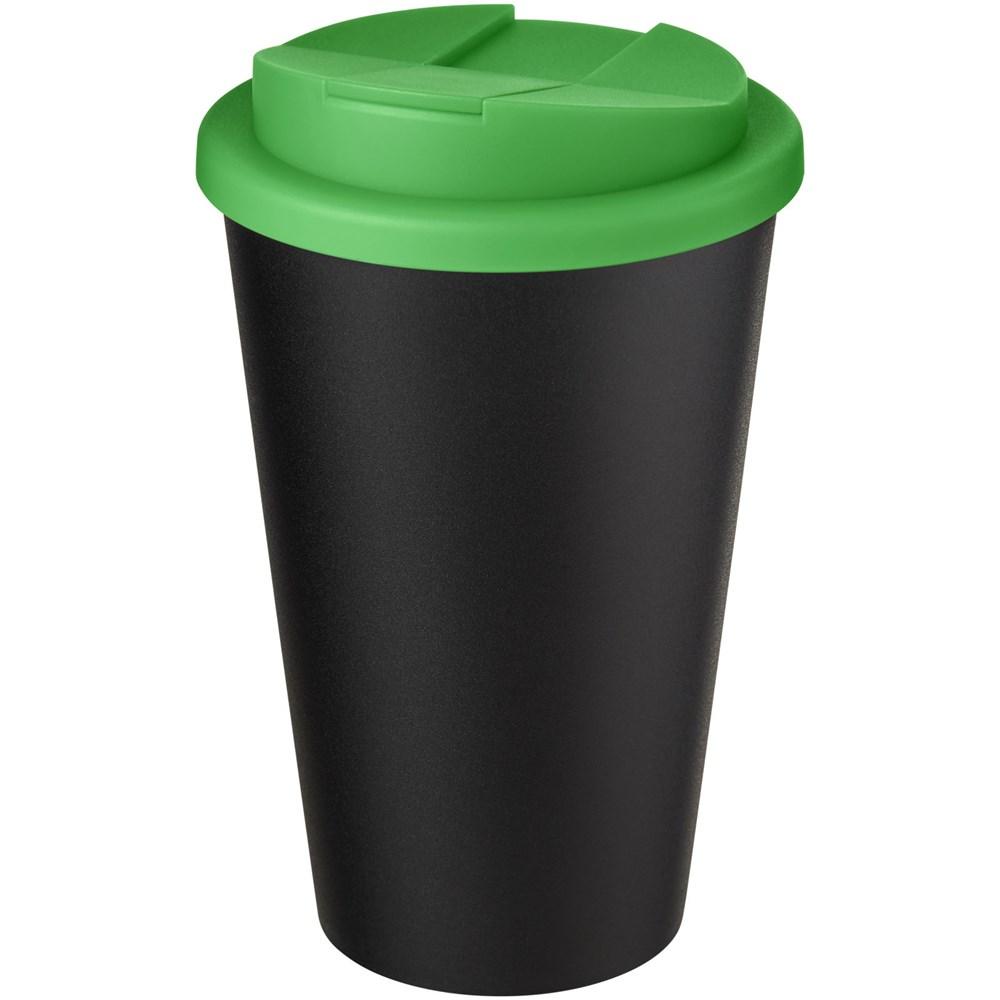 Bild Americano® Eco 350 ml recycelter Becher mit auslaufsicherem Deckel