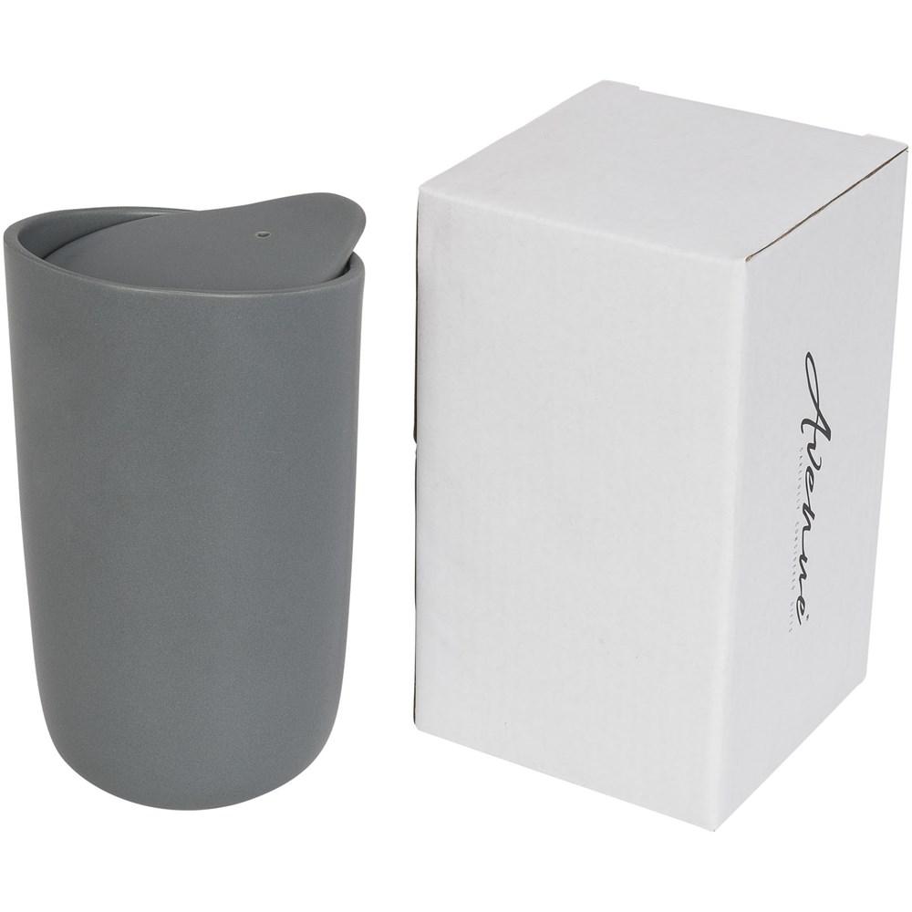 Mysa 410 ml dubbelwandige keramische beker