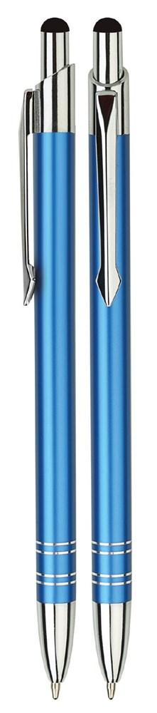 Aluminium Touch pen Stylus blauw