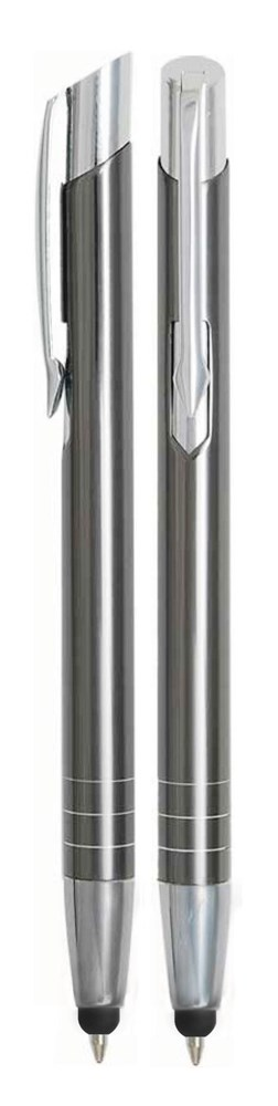Aluminium Touch pen Stylus antraciet