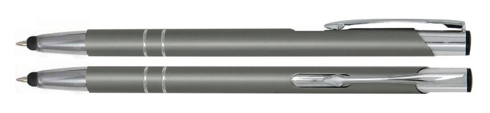 Aluminium Touch pen Stylus grijs