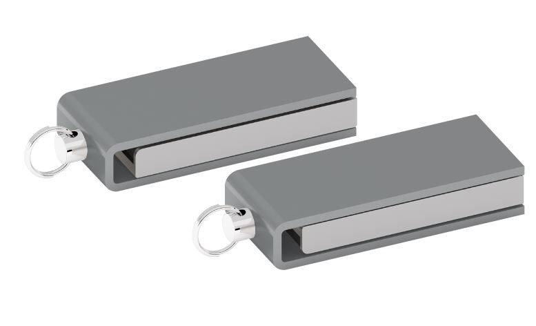 USB stick Chic 3.0 mat chroom 32GB