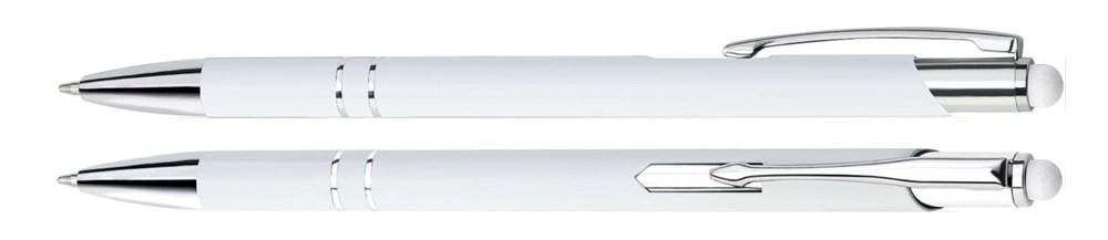 Aluminium Touch pen Stylus wit