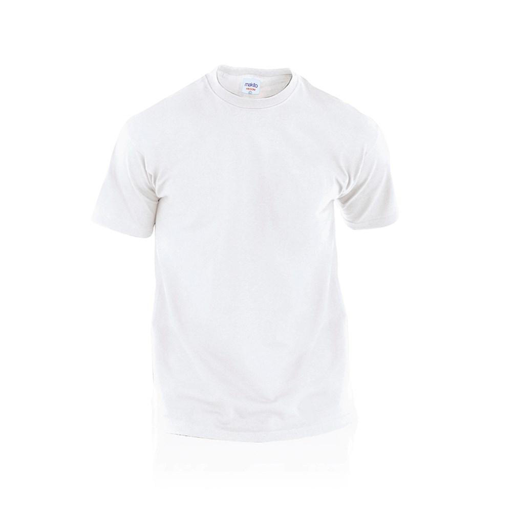 Wit T-Shirt Volwassene Hecom