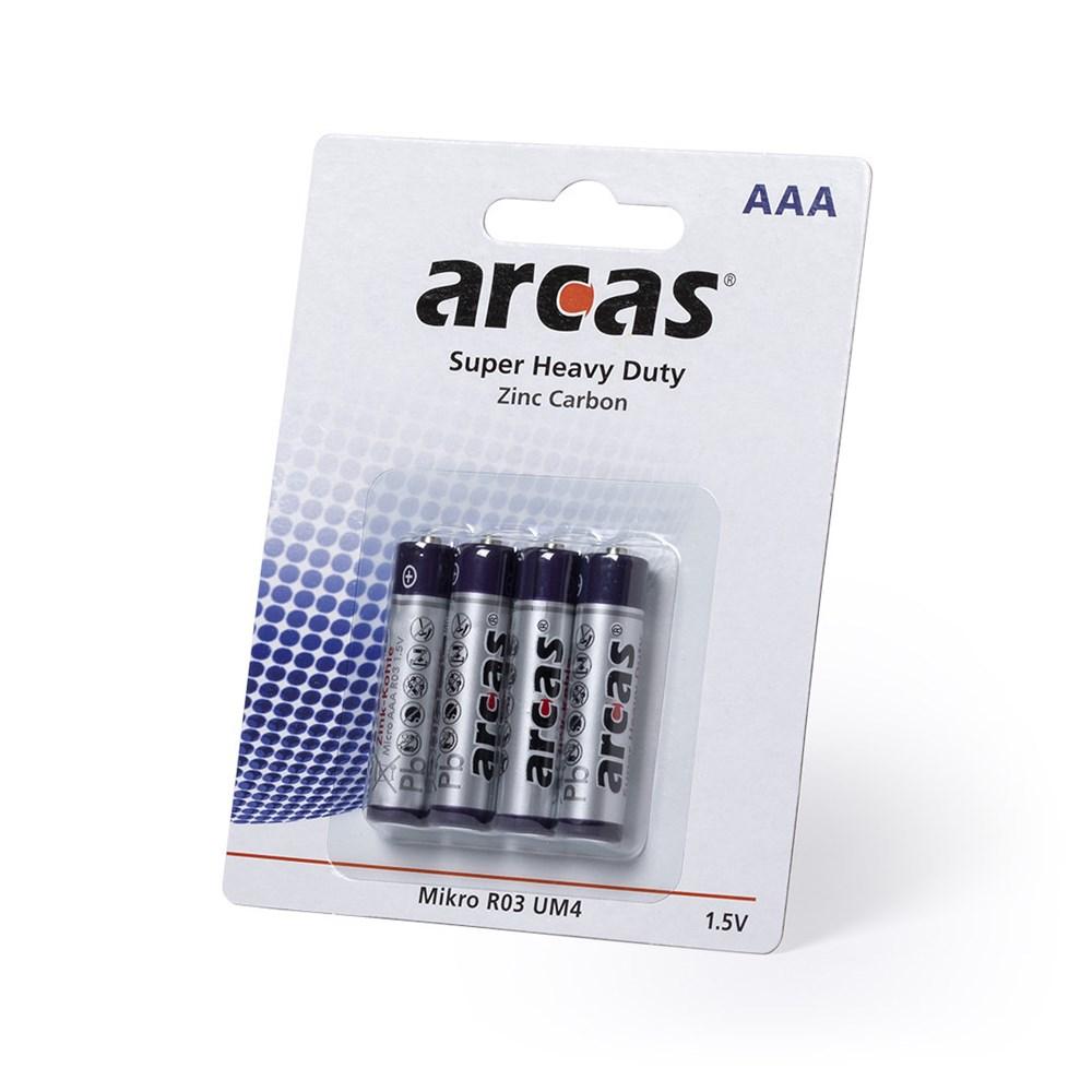 4 Batterijen Pak 1,5V AAA/ R03