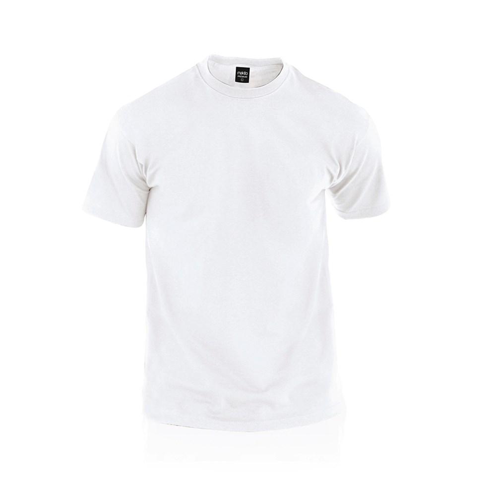 Wit T-Shirt Volwassene Premium