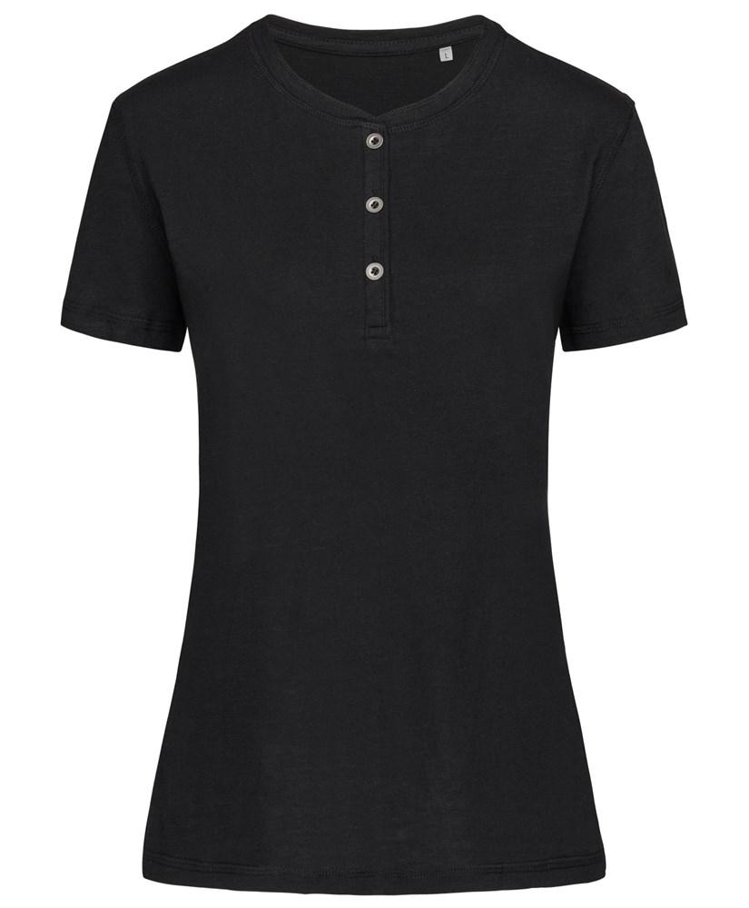 Stedman T-shirt Henley Sharon SS for her