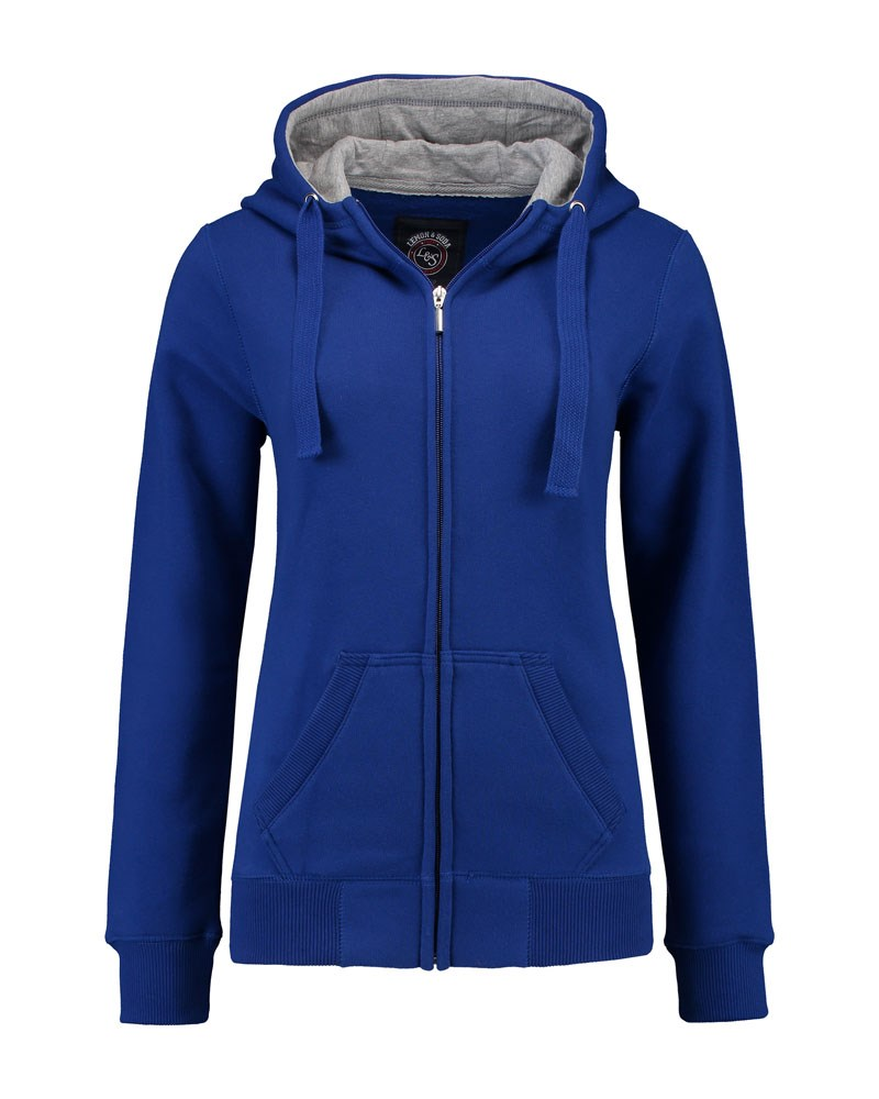 L&S Heavy Sweater Hooded Cardigan for her