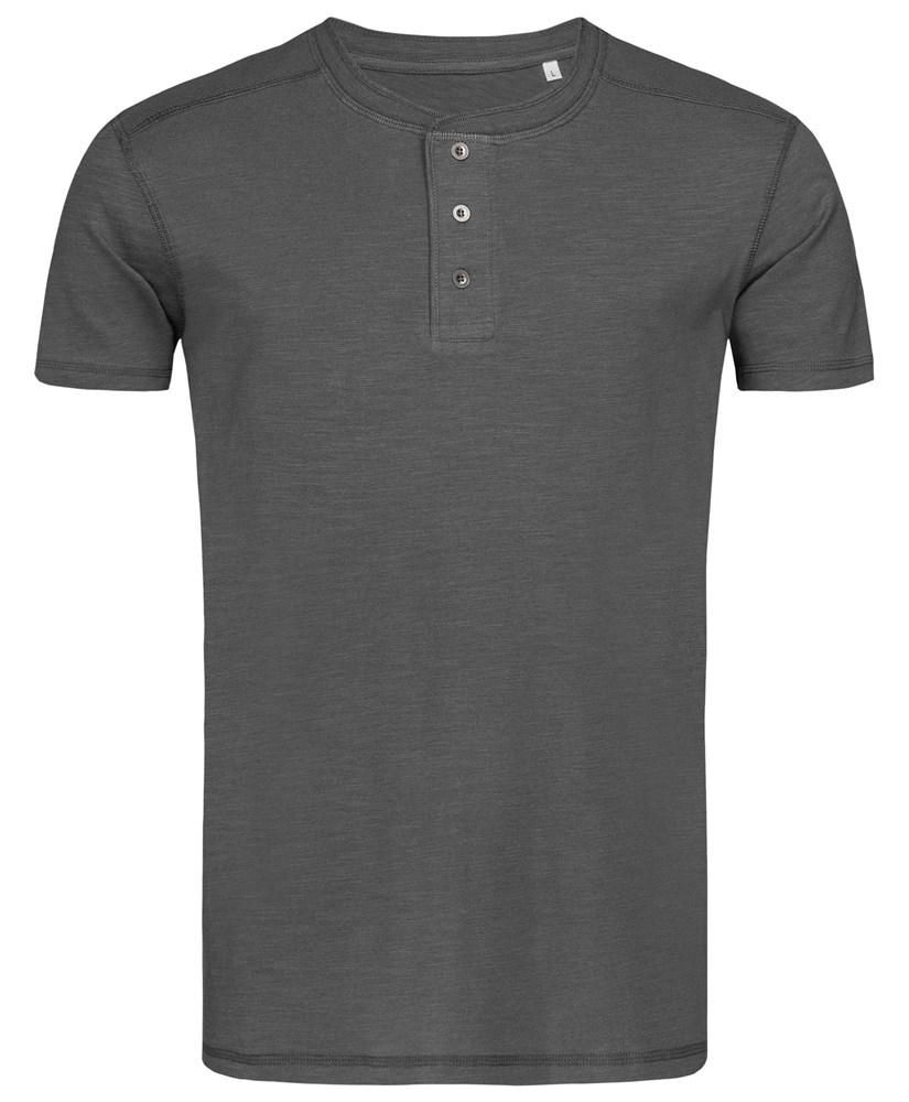 Stedman T-shirt Henley Shawn SS for him