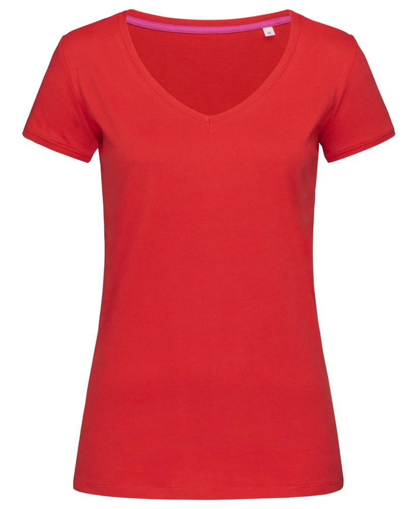 Stedman T-shirt V-neck Megan SS