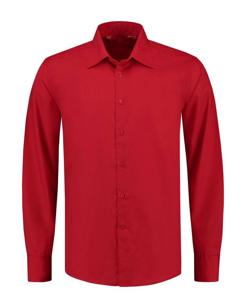 L&S Shirt Poplin Mix LS for him