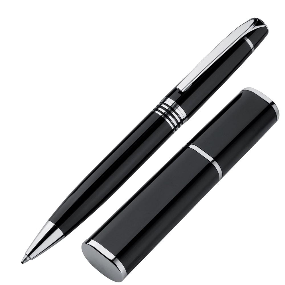 Metalen pen in metalen verpakking