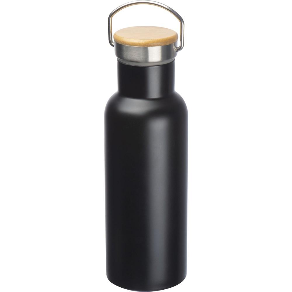 Drinkfles vanRVS met draagbeugel