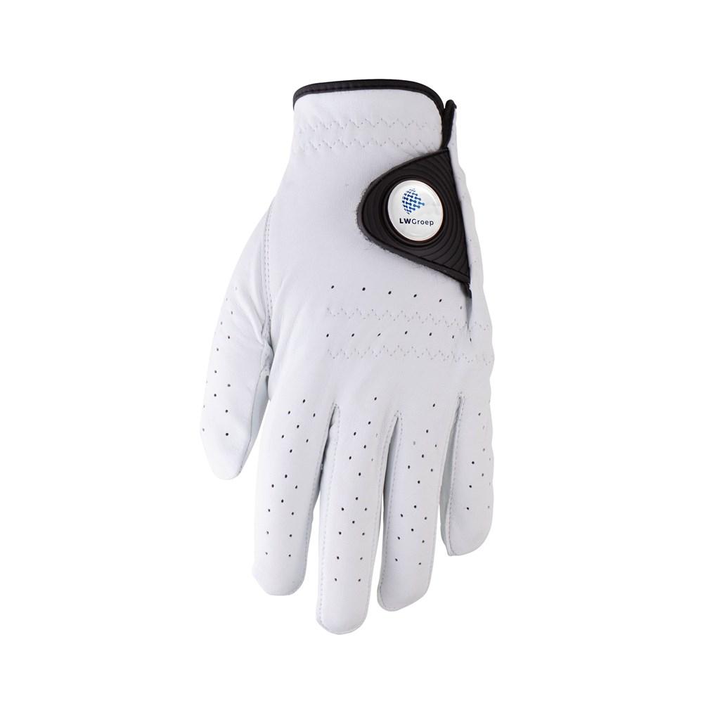 Leather golf glove