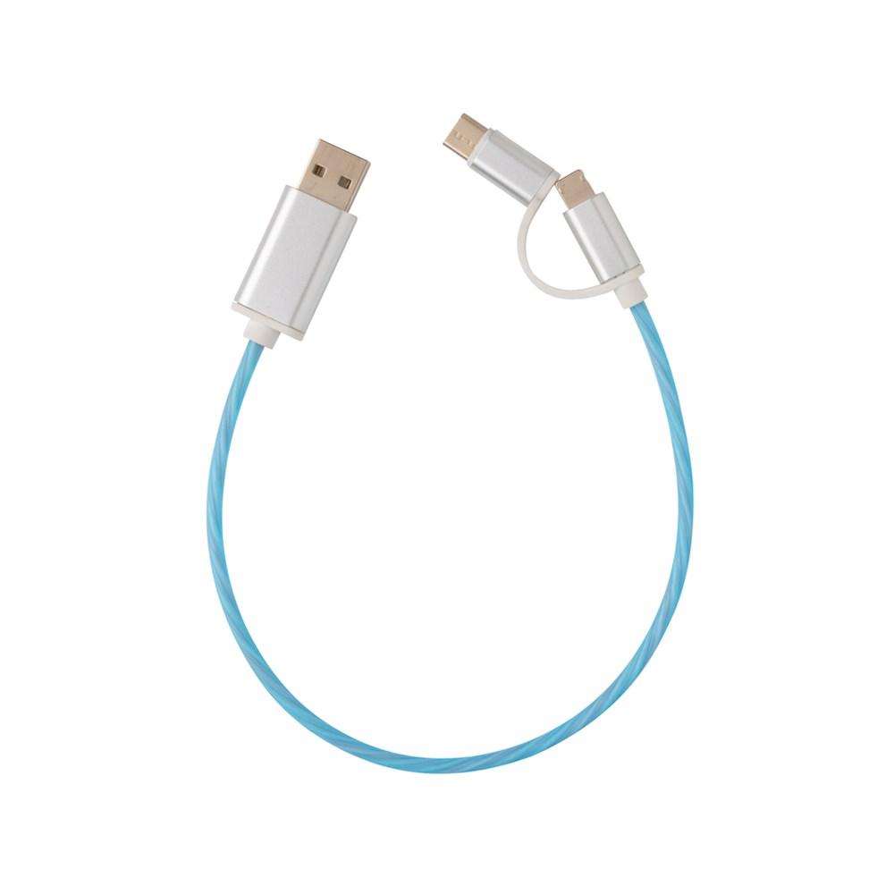 3-in-1 leuchtendes Kabel