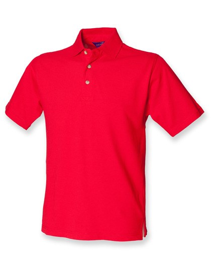 Henbury - Classic Cotton Piqué Polo Shirt