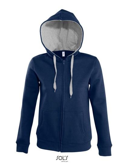 SOL´S - Contrast Hooded Zip Jacket Soul Women