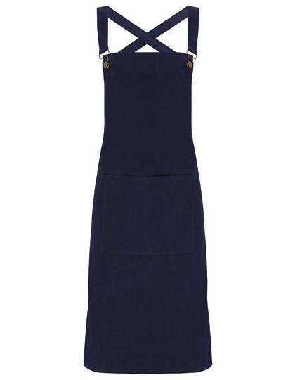 Premier Workwear - Cross Back Barista Bib Apron