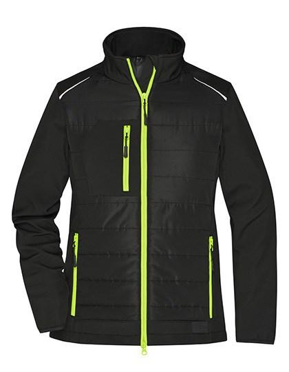 James+Nicholson - Ladies' Hybrid Jacket