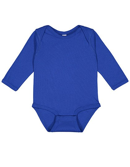 Rabbit Skins - Infant Fine Jersey Long Sleeve Bodysuit