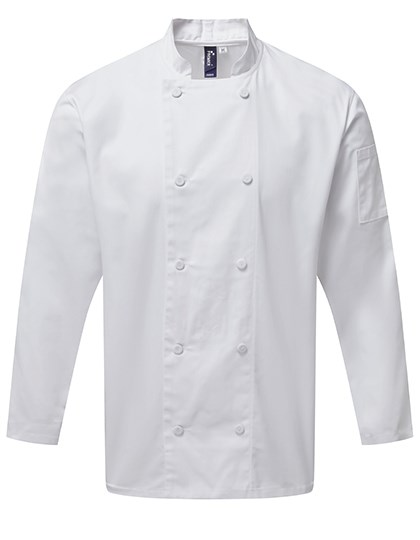 Premier Workwear - Chefs Long Sleeve Coolchecker® Jacket