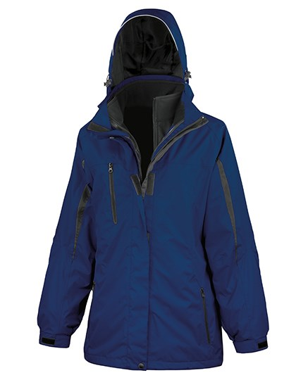 Result - Womens 3-in-1 Journey Jacket with Soft Shell inner