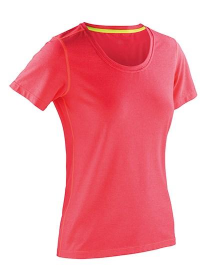 SPIRO - Fitness Women`s Shiny Marl T-Shirt