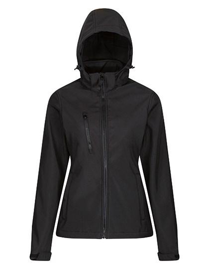 Regatta Professional - Womens Venturer 3-layer Printable Hooded Softshell Jacket