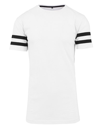 Build Your Brand - Stripe Jersey Tee