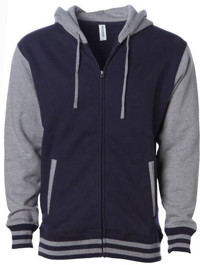 Independent - Unisex Heavyweight Varsity Zip Hood