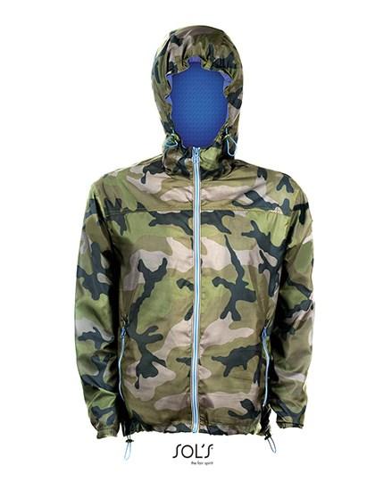 SOL´S - Unisex Lined Windbreaker Skate Jacket