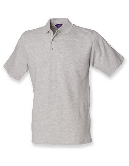 Henbury - Classic Cotton Piqué Polo Shirt