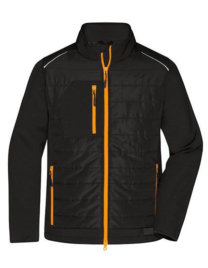 James+Nicholson - Men's Hybrid Jacket